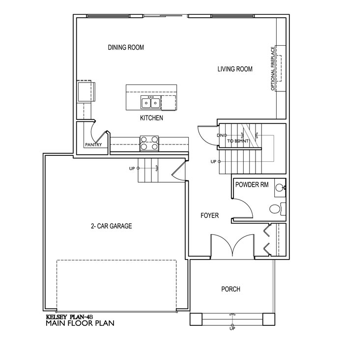 The Kelsey 4 Bedroom