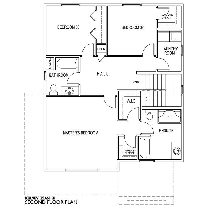 The Kelsey 3 Bedroom