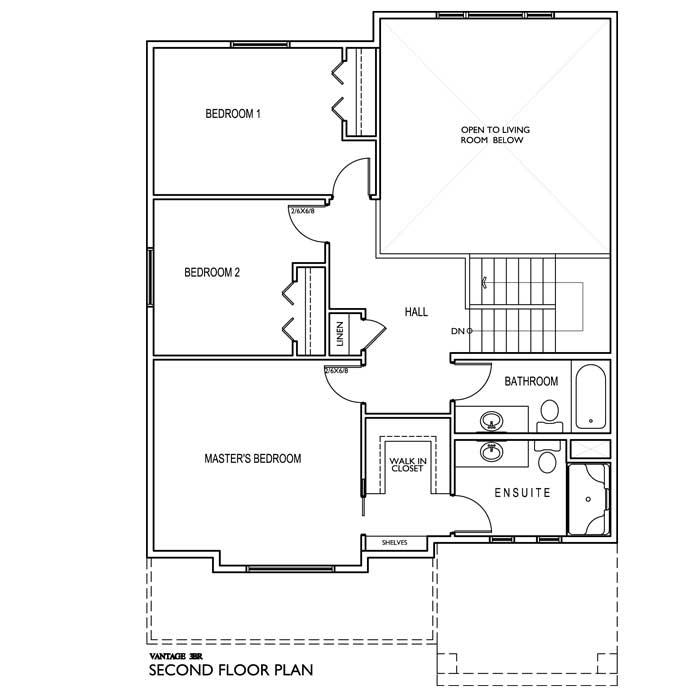 The Vantage 3 Bedrooms